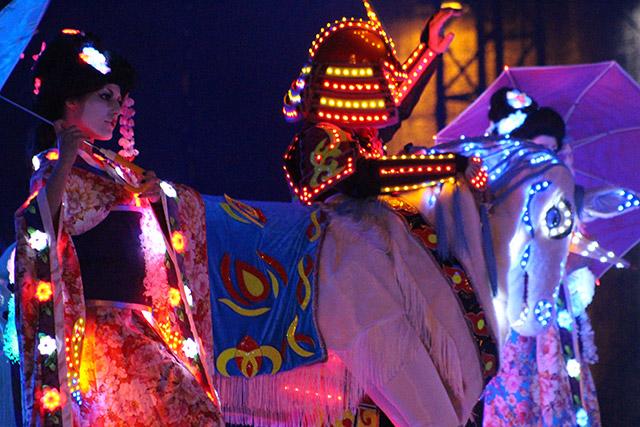 Геленджикский карнавал, сцена
