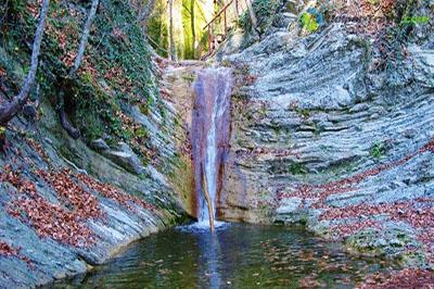 Гебиусские водопады, Геленджик, вид