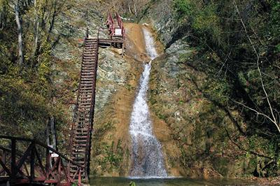 Гебиусские водопады, Геленджик
