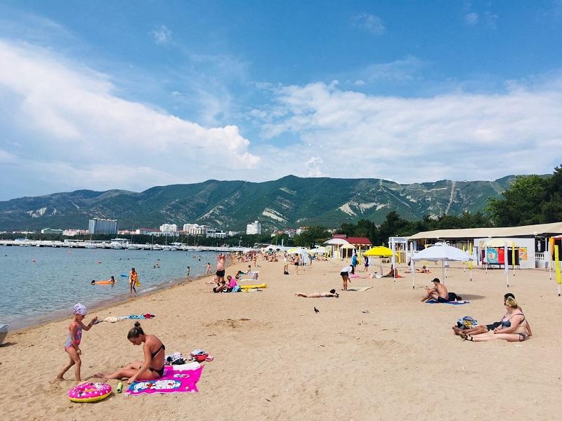 """Пляж """"Дельфин"""" - 30 июня"""