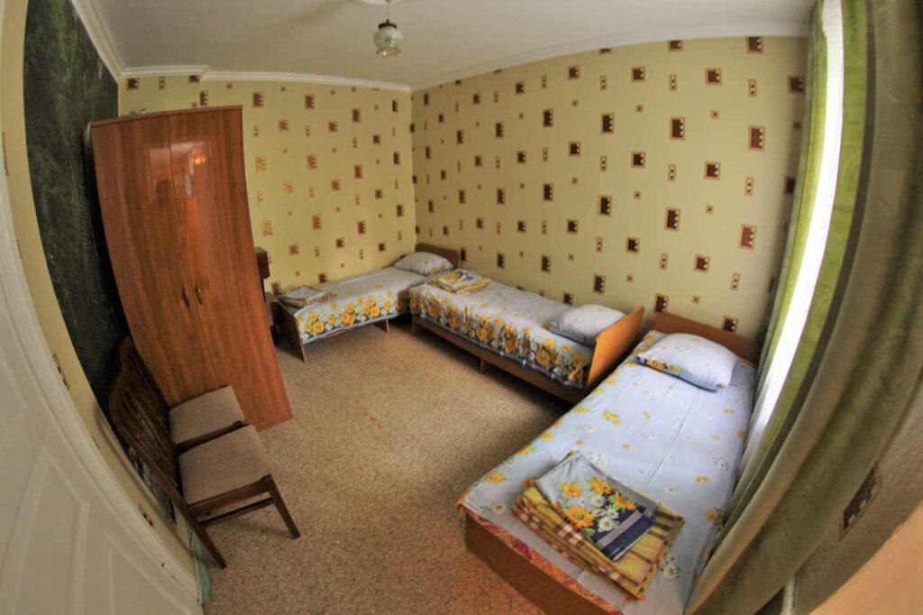 Комната с раздельными кроватями