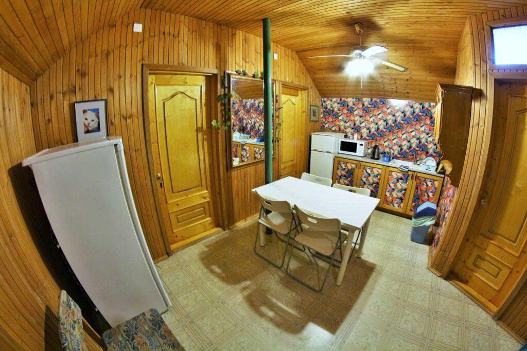 Кухня на 3 этаже для номеров эконом