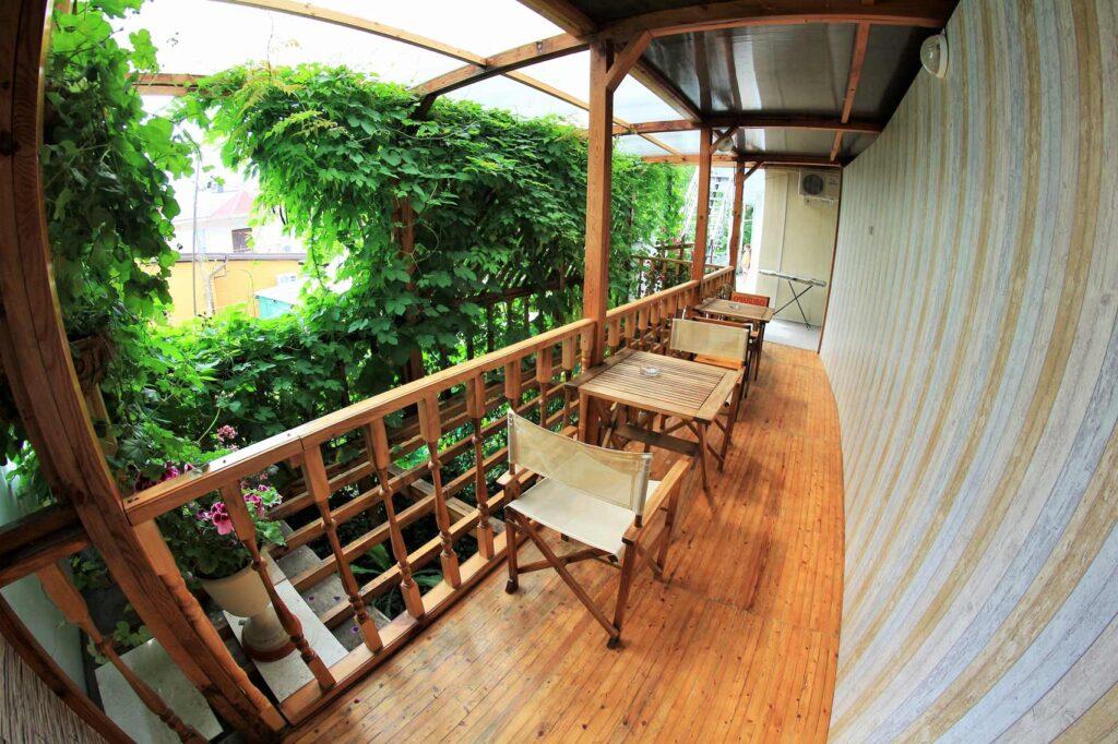 Место для отдыха на втором этаже