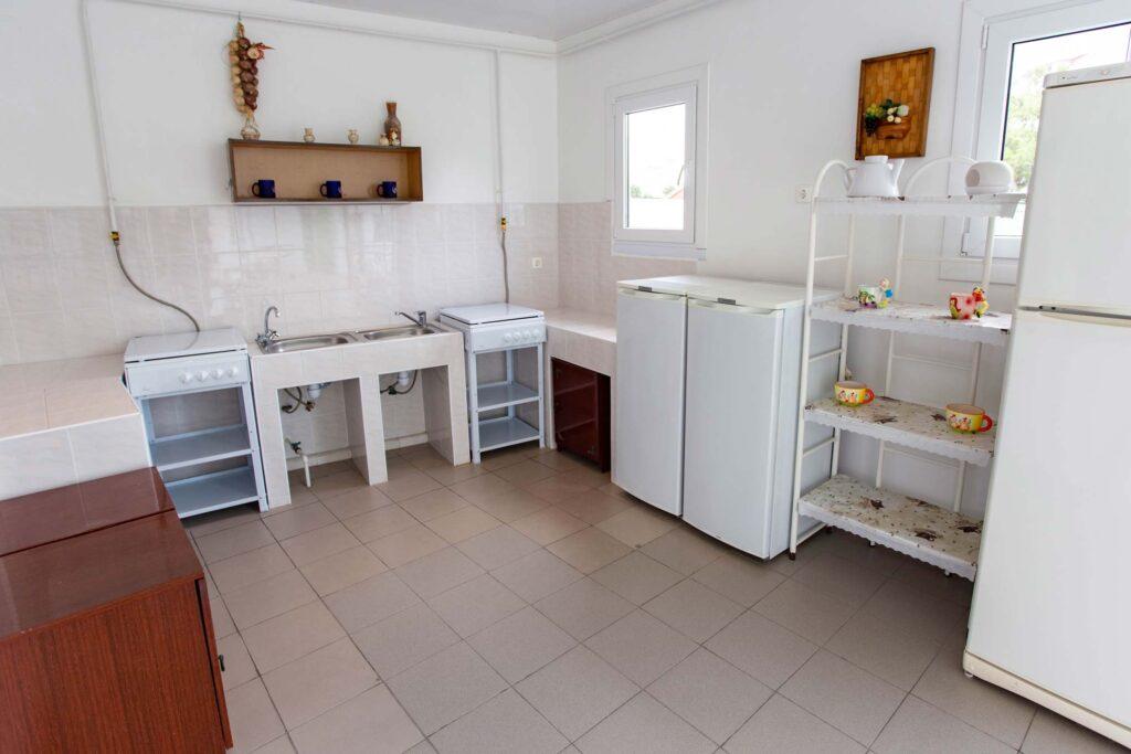 Общая кухня на втором этаже