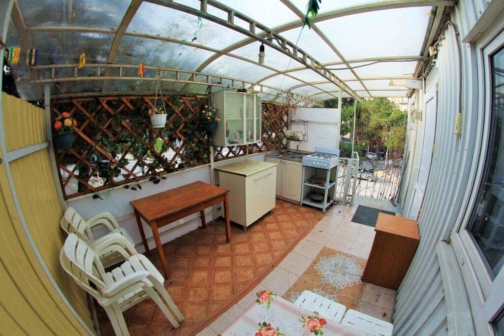 Общая кухня, места для отдыха
