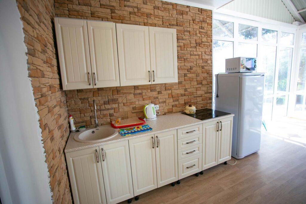 Кухня на 2м этаже