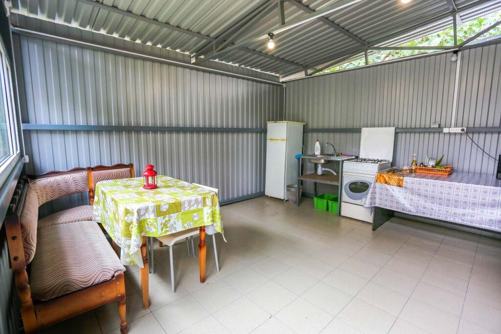 Общая кухня 2 на два номера стандарт