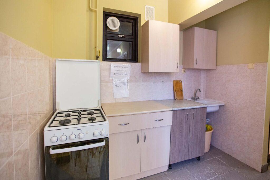Общие кухни на этажах