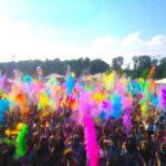 Фестиваль красок в июне
