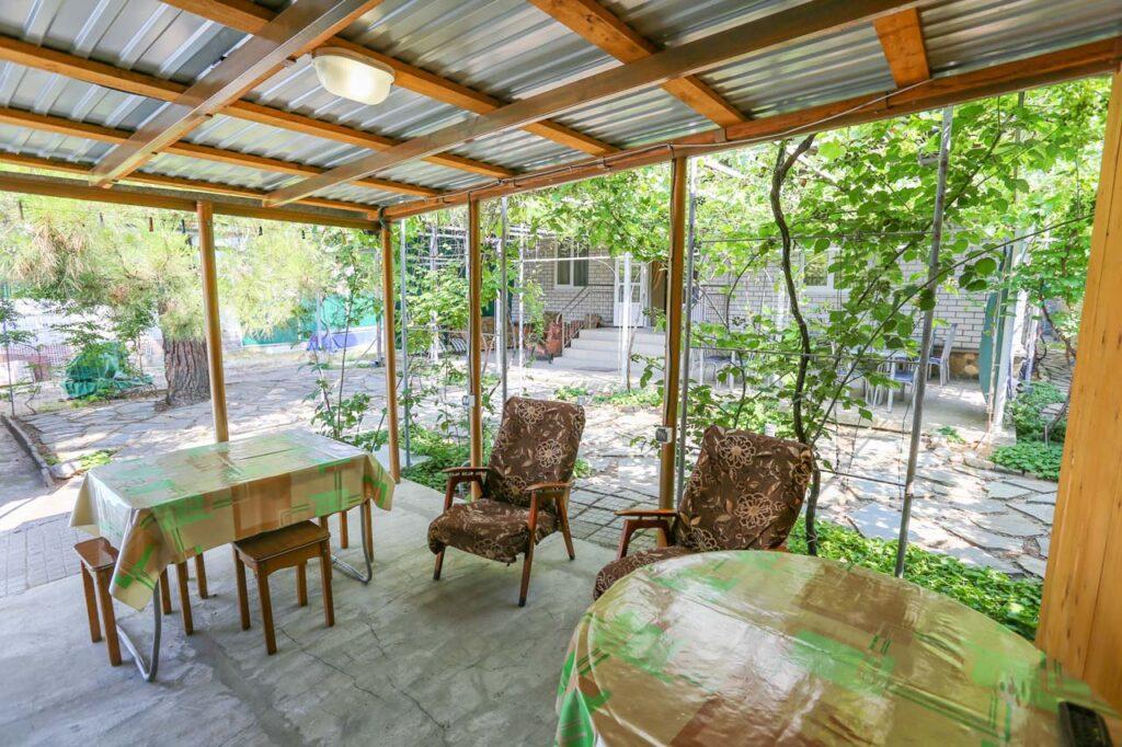 Двор и места для отдыха