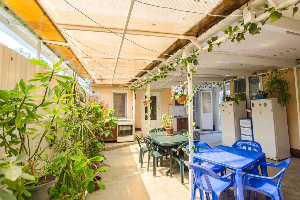 Общая кухня и места для отдыха